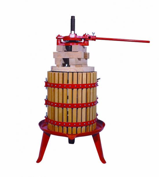 Ръчна преса с обем на коша 320 литра