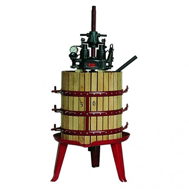 Ръчна хидравлична преса с обем на коша 130 литра