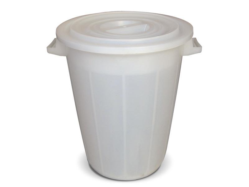Бидон за ферментация с дръжки 100 литра Бял