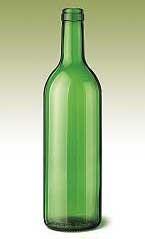 Бутилка за вино Бордо Леджера - 0,750 л.