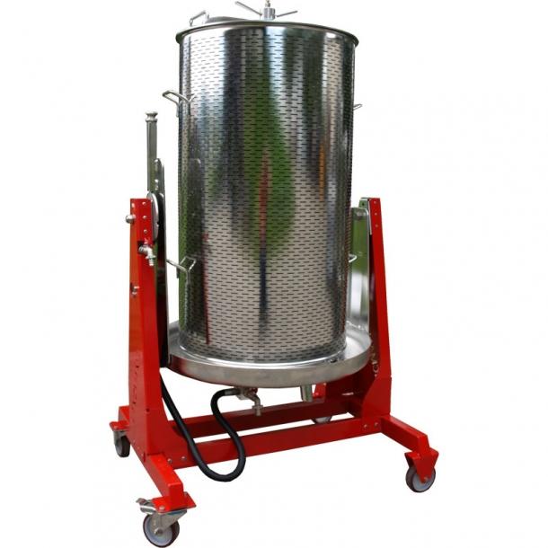 Хидропреса за плодове и грозде - 250 л