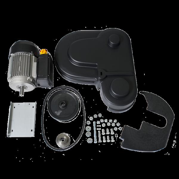 Комплект за ръчна гроздомелачка Ares - с електромотор