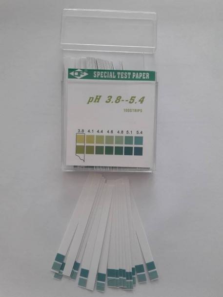 Ph измервателни ленти
