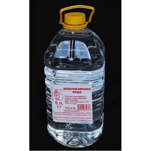 Дейонизирана вода - 10 литра