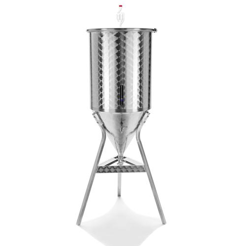 Ферментатор за бира с конично  дъно - 55 литра