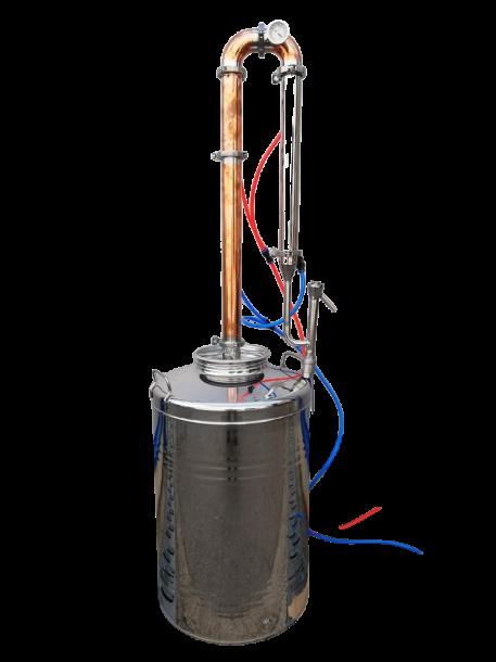 Ректификационна медна колона  100 литра